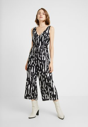 Overall / Jumpsuit /Buksedragter - black non