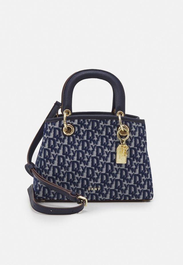 TONNY SATCHEL LOGO - Handbag - navy