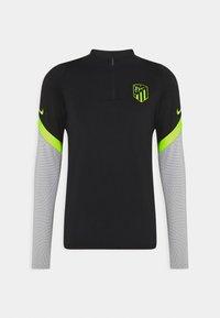 Nike Performance - ATLETICO MADRID DRY DRILL - Klubtrøjer - black/wolf grey/volt - 5