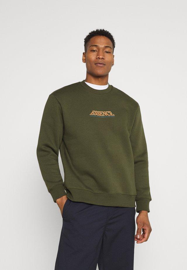 ESSENCE ROSE - Sweatshirts - khaki