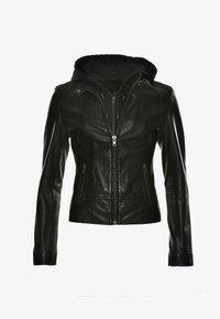 JCC - Leather jacket - black - 2