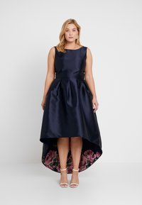 Chi Chi London Curvy - DANI DRESS - Occasion wear - navy - 0