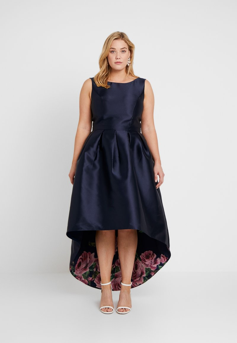 Chi Chi London Curvy - DANI DRESS - Occasion wear - navy