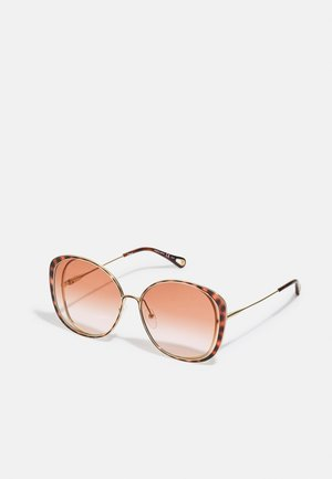 Lunettes de soleil - gold-coloured/orange