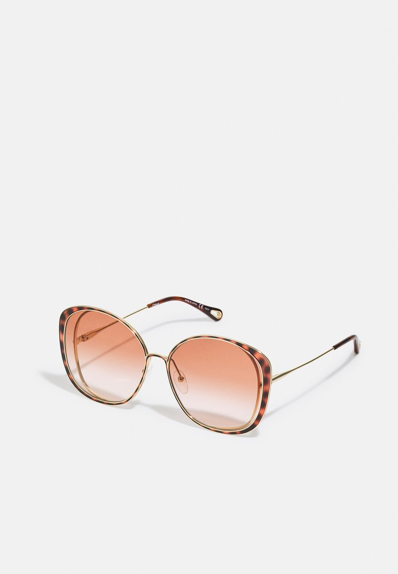 Chloé - Sunglasses - gold-coloured/orange