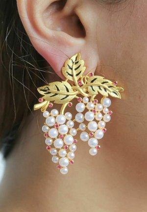 SULTANA GRAPES - Earrings - golden