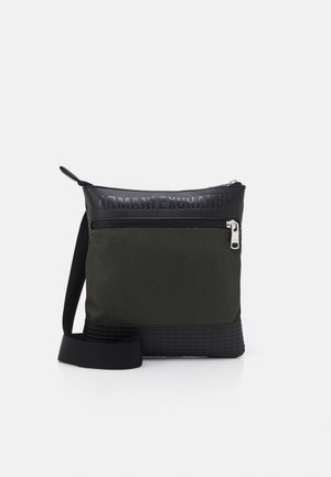 SHOULDER BAG - Schoudertas - graphite/rosin/black