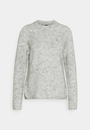 YASALLU O NECK - Jumper - light grey melange