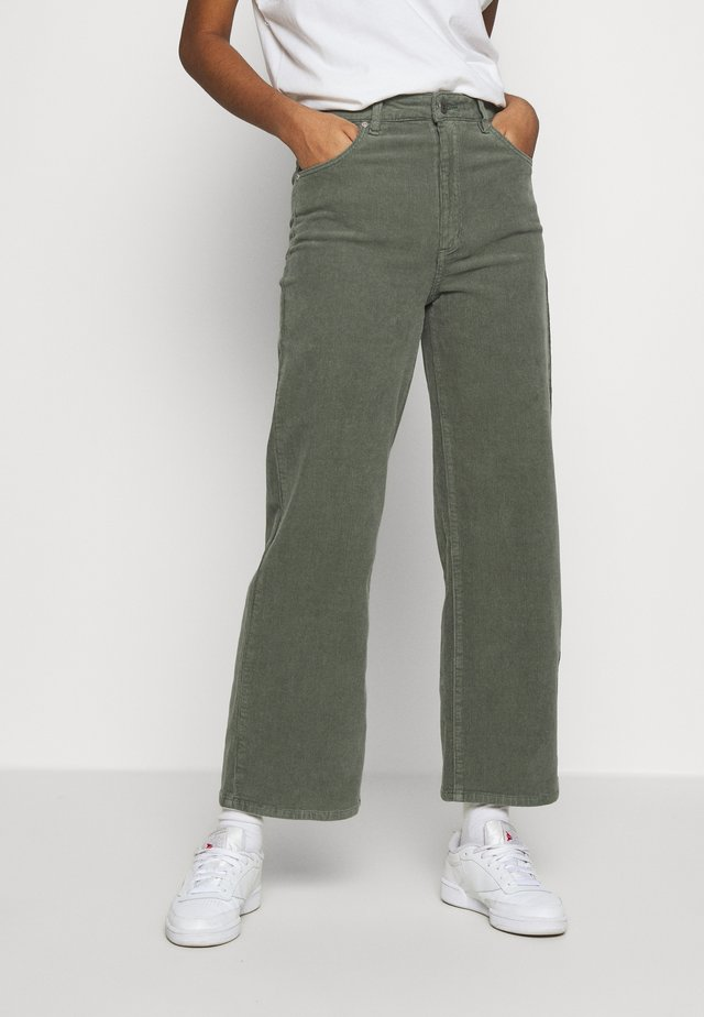 A STREET ALINE - Trousers - gumnut
