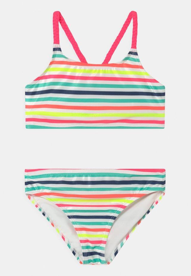 GIRL BRAIDED STRAP SET - Bikini - retro rainbow