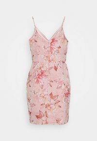 Forever New Petite - AUDRINA RUCHED DRESS - Day dress - pink floral - 1