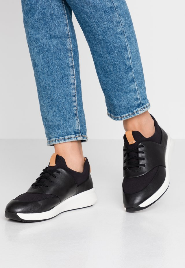 UN RIO LACE - Sneaker low - black