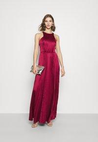 Chi Chi London - KELLI DRESS - Suknia balowa - burgundy - 1