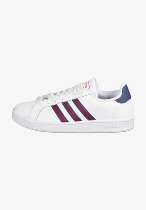 Trainers - footwear white / tech indigo / scarlet red