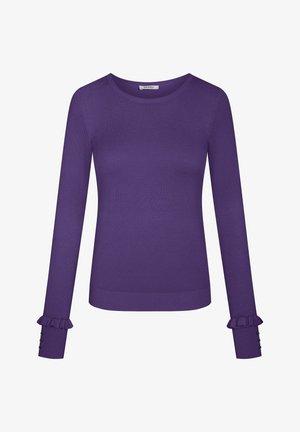 Jumper - deep violet