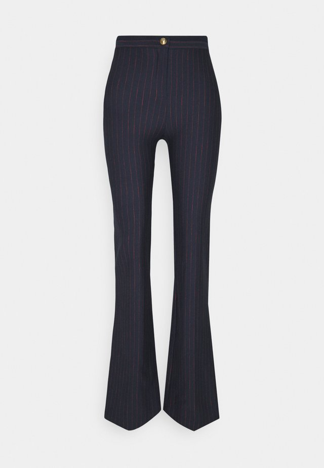 HULKI TROUSERS - Trousers - blue rosso