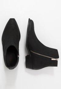 HUGO - PRESTIGE - Cowboy/biker ankle boot - black - 1