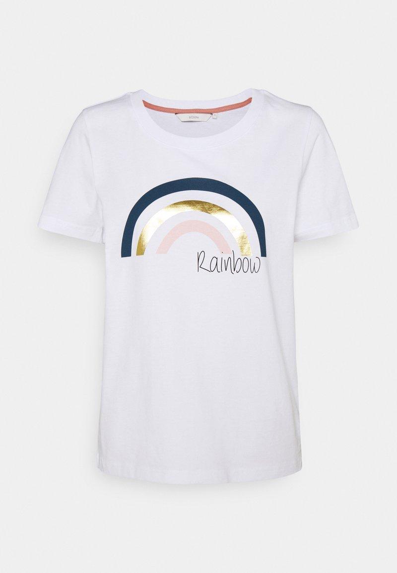 Nümph - NUBRYCE - T-shirts med print - bright white