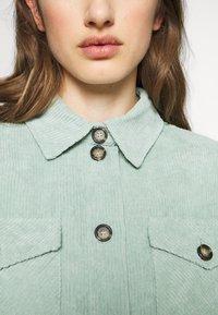 Moves - SAVISA - Button-down blouse - mint green - 5