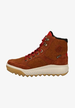 Lace-up ankle boots - cognac (braun) 3300