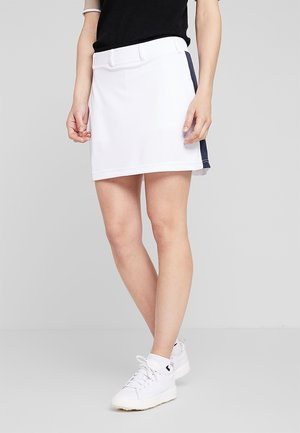 STRIPE SKORT - Sports skirt - white