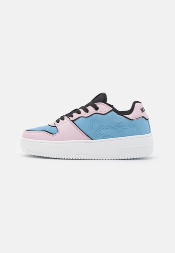 89 UP LOGO - Trainers - pink mist/air blue/white