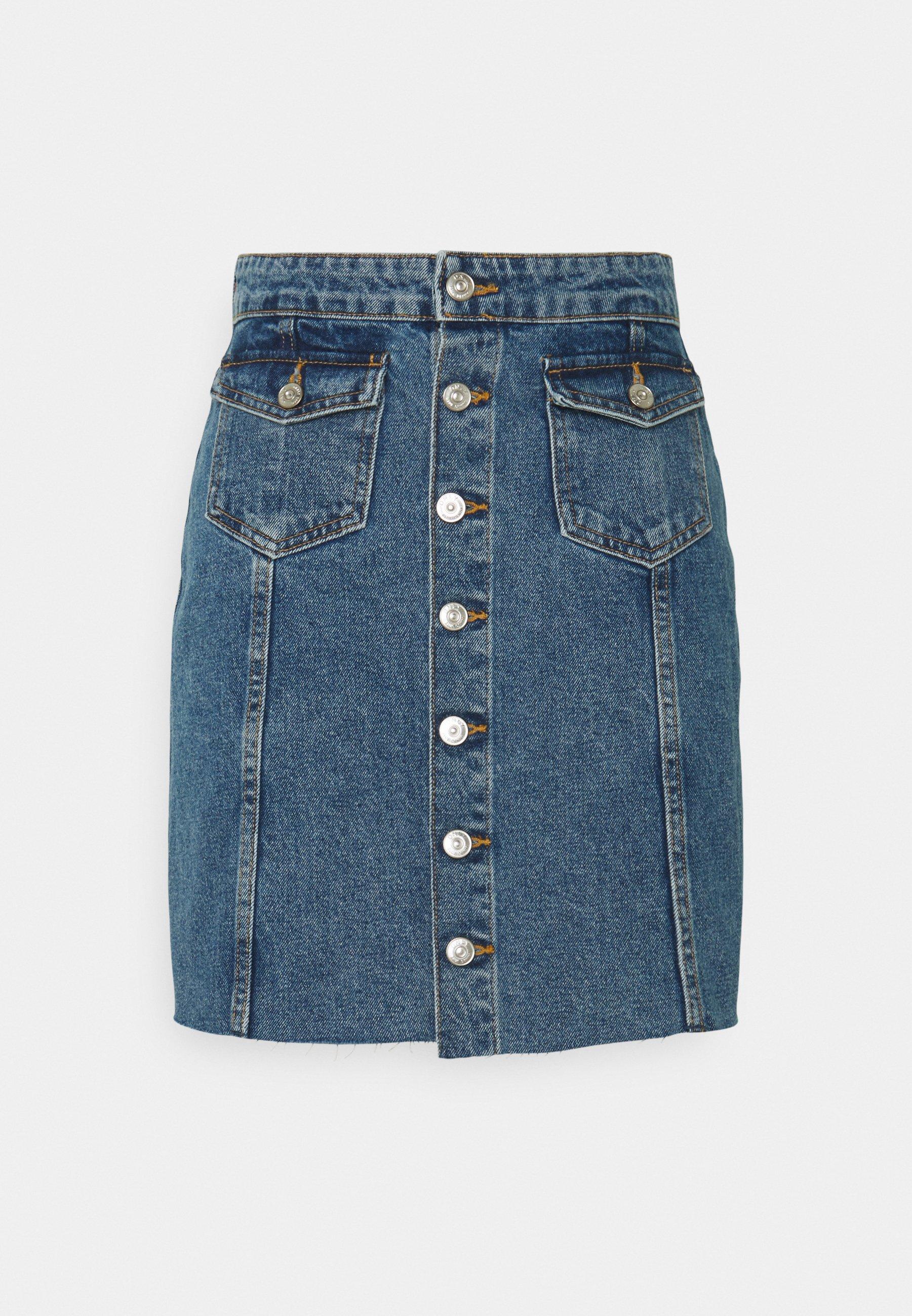 Femme ONLLAGUNA LIFE  - Jupe en jean