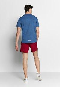 Nike Performance - M NK DRY MILER SS JACQUARD FF - Camiseta estampada - smoke grey/pacific blue - 2