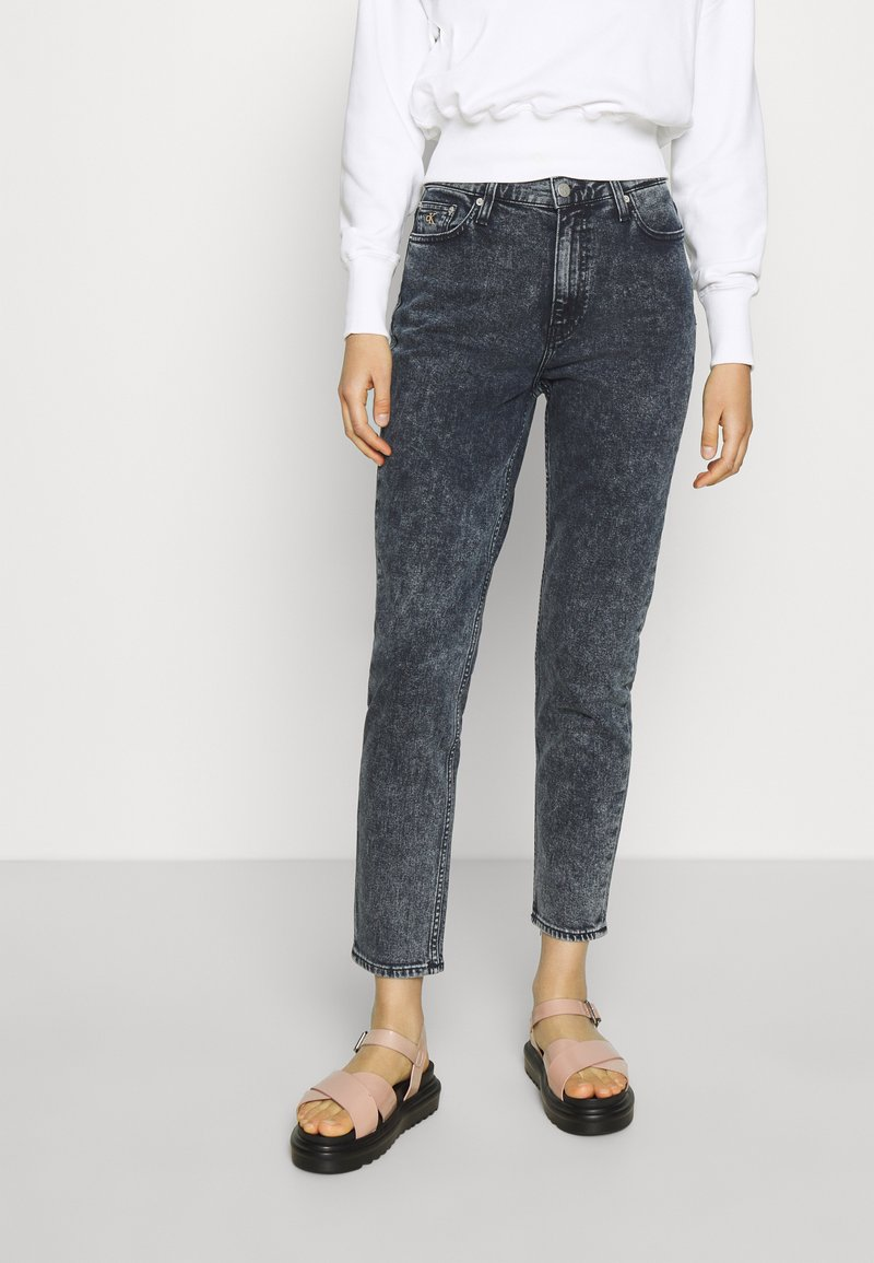 Calvin Klein Jeans - MOM - Relaxed fit jeans - blue black