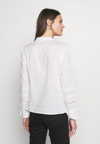 Cream - MANNA - Button-down blouse - chalk - 2