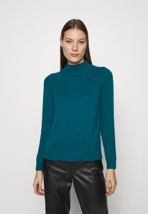 DOORBUSTER FUNNEL NECK SOLIDS - Jumper - baltic blue