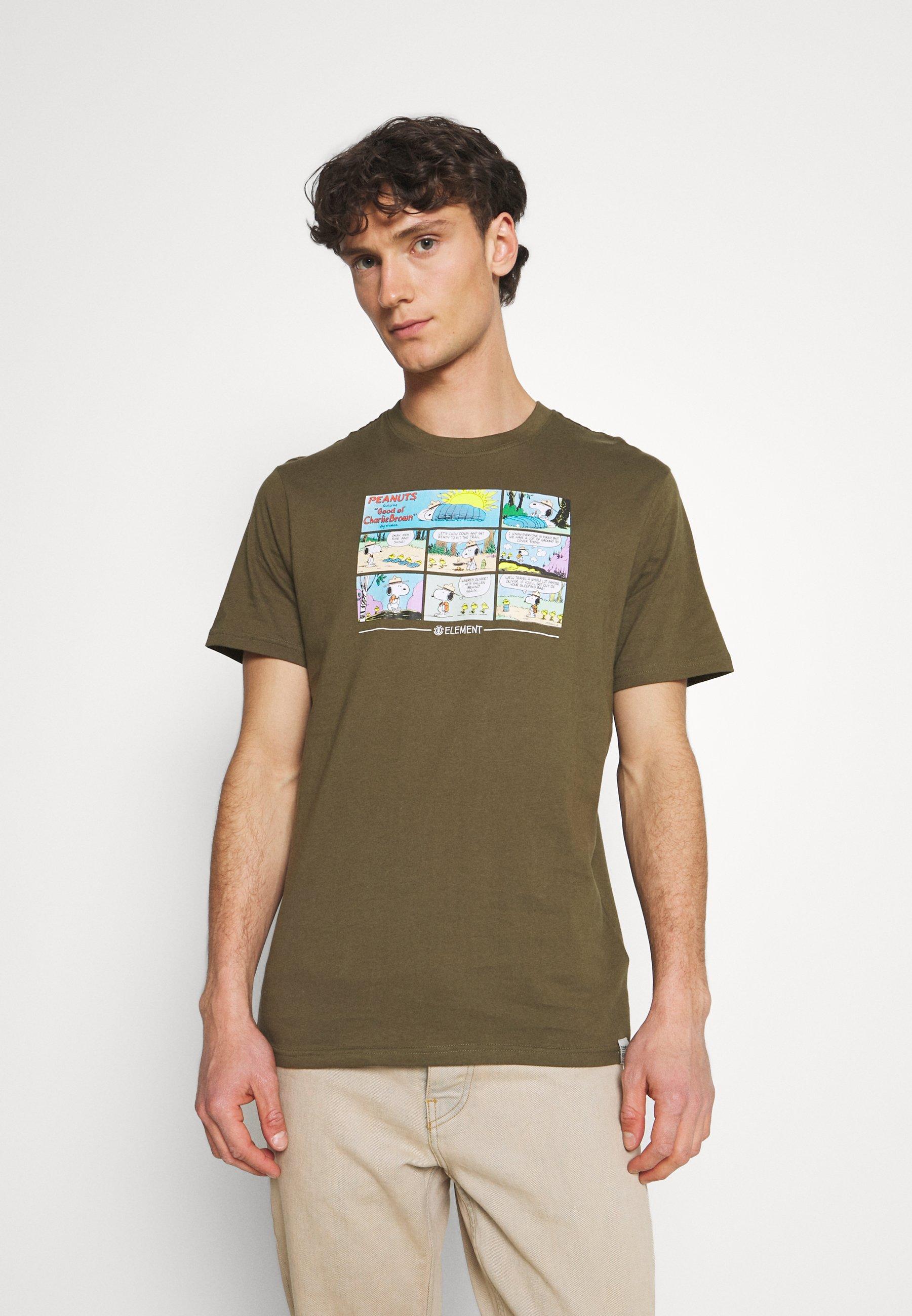 Men PEANUTS CAMPER - Print T-shirt