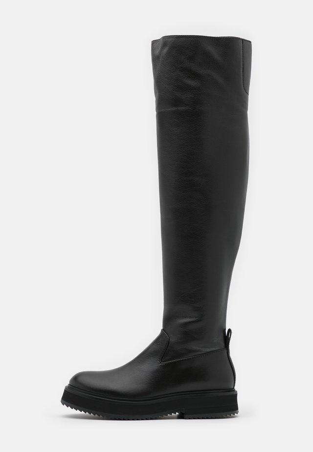Plateaustøvler - nero