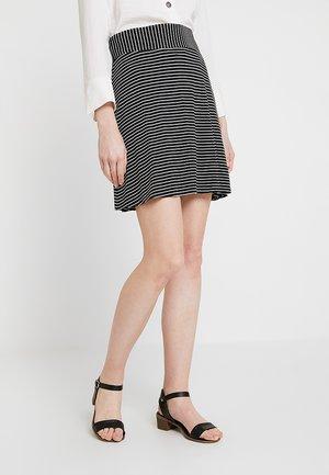 BASIC SKIRT - A-snit nederdel/ A-formede nederdele - black