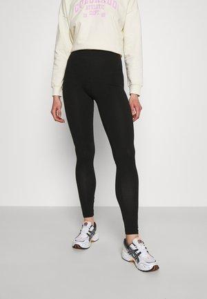 PCKIKI LEGGINGS NOOS - Leggings - Trousers - black