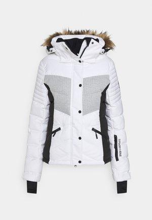 SNOW LUXE PUFFER - Skijacke - white