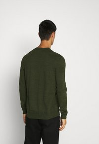 Topman - CREW 2 PACK - Trui - grey/green - 3