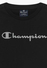 Champion - LEGACY AMERICAN CLASSICS CREWNECK UNISEX - Triko spotiskem - black - 3
