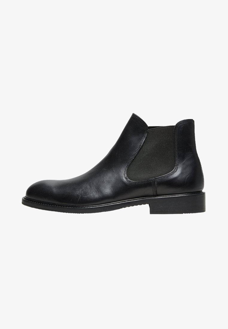 Selected Homme - CHELSEA - Bottines - black