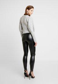 Cotton On - CHELSEA HIGH WAISTED - Leggings - black - 2