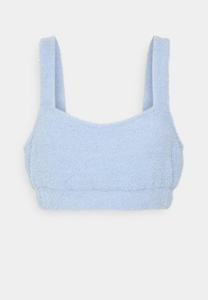 FUZZY CROP - Pyjamasoverdel - blue
