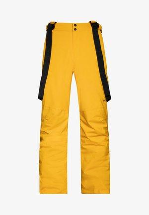 MIIKKA - Snow pants - dark yellow
