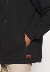 Dickies - BUSKIRK COACH JACKET - Summer jacket - black - 4