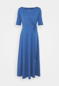 GERANIO - Jersey dress - dusty blue