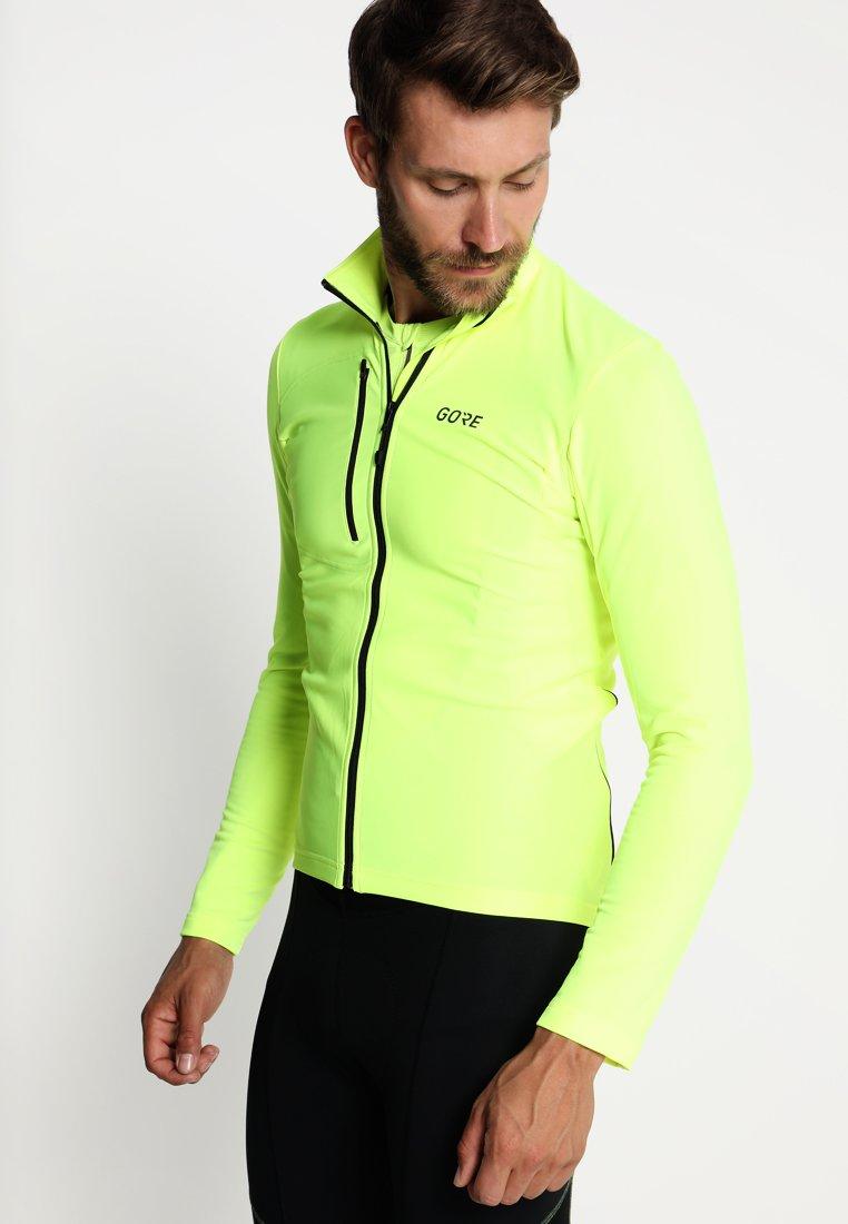 Gore Wear - THERMO  - Fleecová bunda - neon yellow