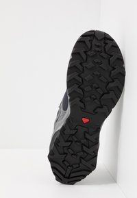 Salomon - X RAISE GTX - Hiking shoes - ebony/black/quiet shade - 4