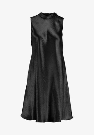 HIGH NECK SHIFT - Cocktail dress / Party dress - dark charcoal