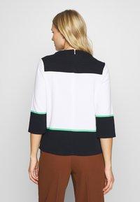 comma casual identity - Sweatshirt - white knit - 2