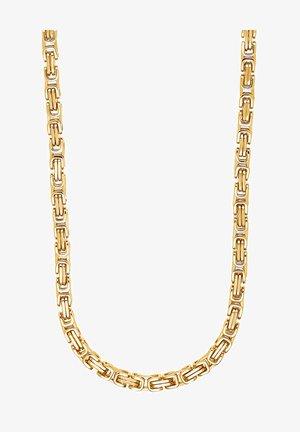 HERREN-HERRENKETTE - Necklace - gelbgold