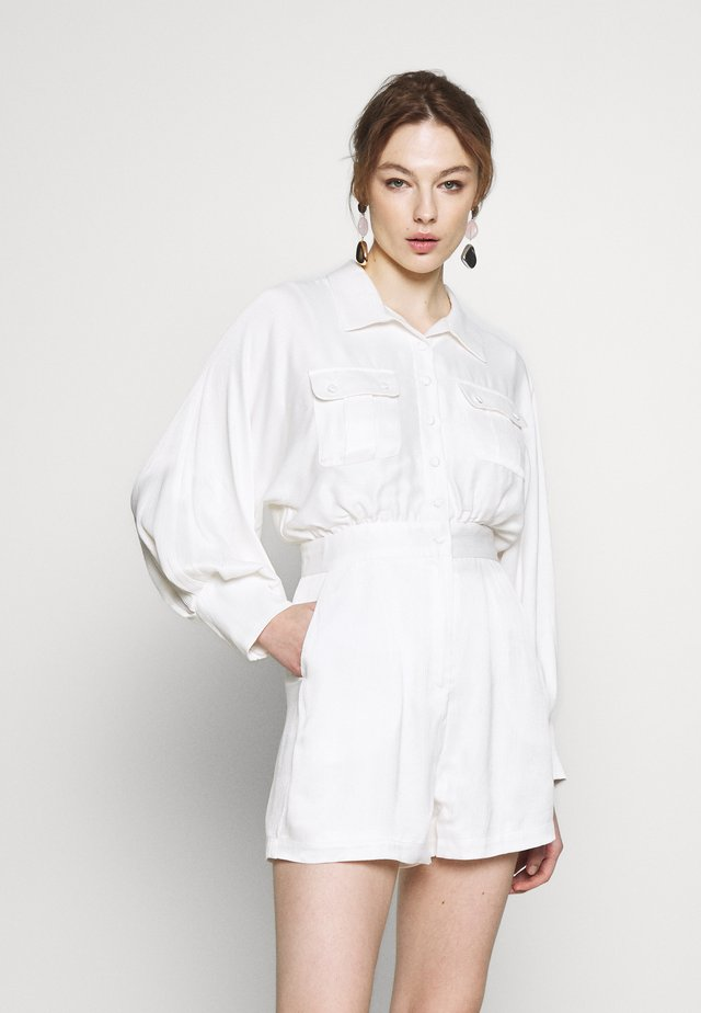 TELL IT TO MY HEART PLAYSUIT - Jumpsuit - white